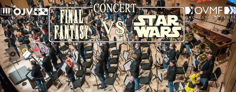 OJV & OVMF | Concert Final Fantasy vs Star Wars